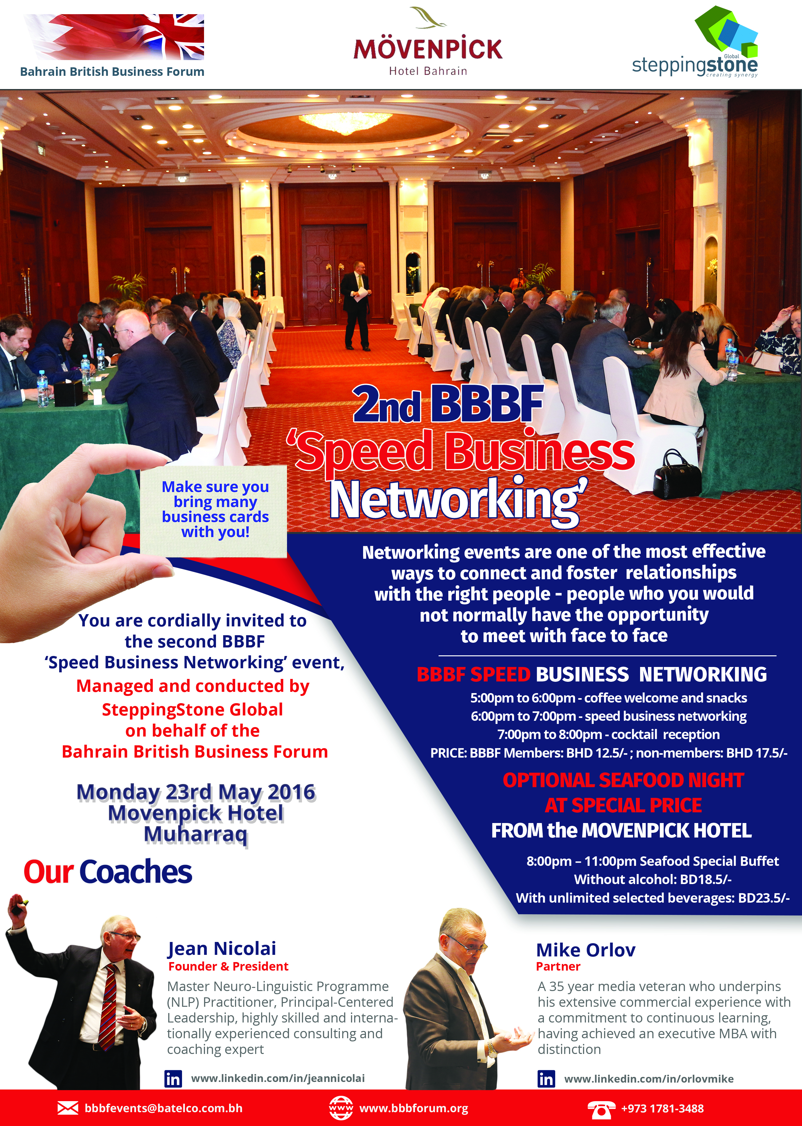 2nd BBBF Business Speed Networking
