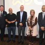 1. Dr. Raj Curwen, Paul Groom and Maria Al Araibi with the BBBF representatives