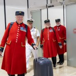 2 Chelsea Pensioners arriving to Bahrain