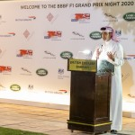 3. H.E. Shaikh Salman addressing the audience
